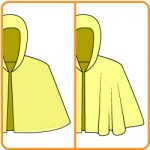 【【おさいほう】ケープや外套のドレープ(ひだ)を増やす方法