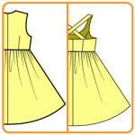 【おさいほう】ワンピースをジャンパースカートにする方法